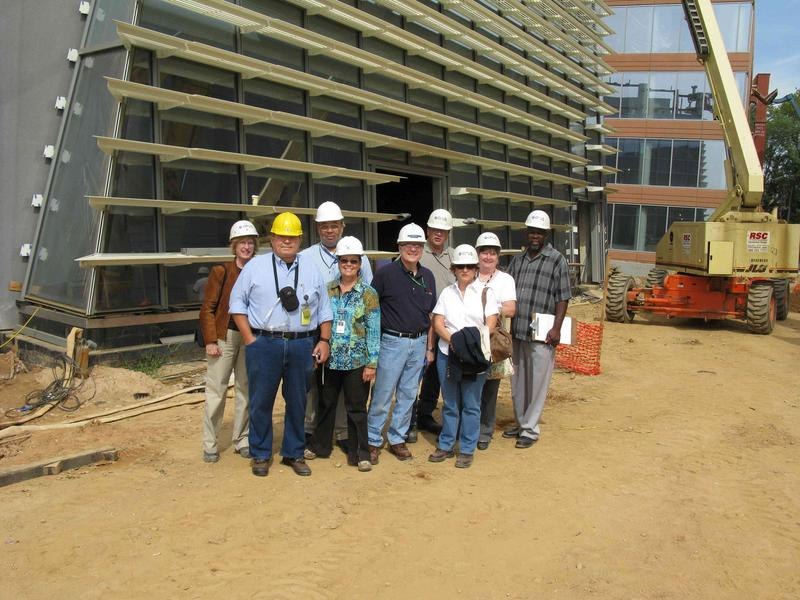 NOAA Safety Team after receiving building tour