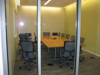Conference room off the atrium