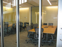 Large conference room off the atrium