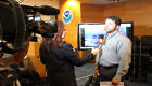 NHC Hurricane Specialist Todd Kimberlain provides a Spanish-language interview regarding Hurricane Sandy.