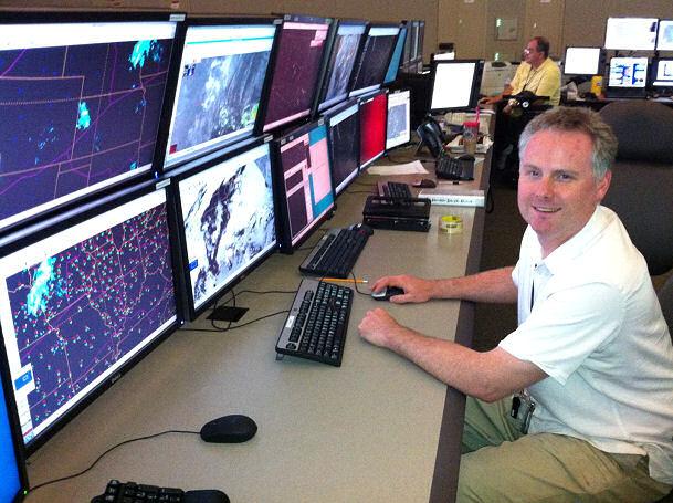 meteorologist computer