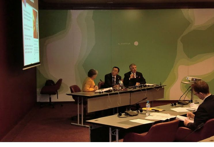 Dr Jack Hayes addresses WMO Meeting on Global Preparedness for Space Weather Hazards
