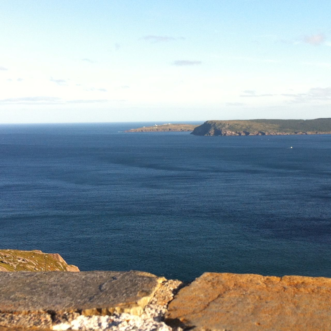 Figure 1. Cape Spear, Newfoundland - the eastern most point of land in North America as seen from Signal Hill, St. John's.